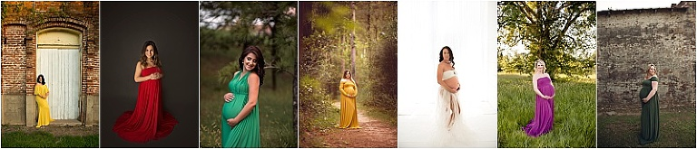 beautiful maternity portraits in houston texas