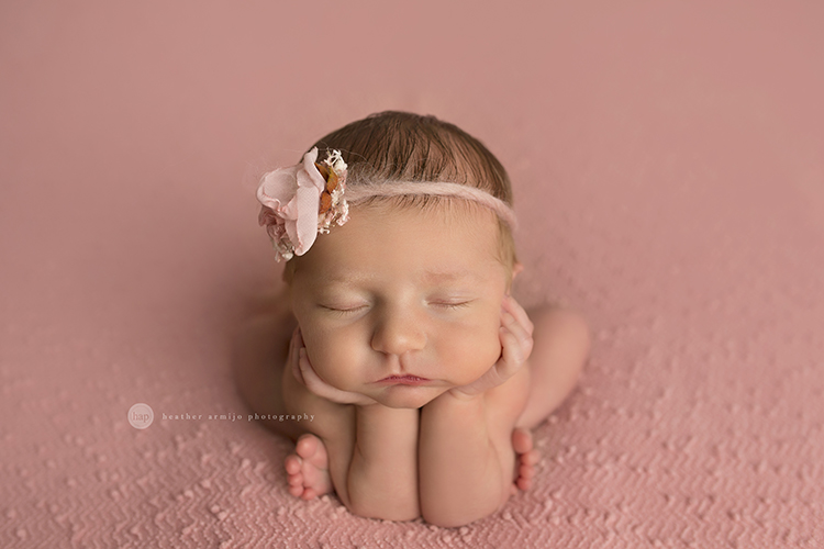Baby stella katy houston texas newborn photographer